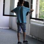 Den Teilnehmern mangelt es nicht an Kreativität! Wenn einmal kein Tanzpartner zur Verfügung steht, dann wissen sie sich zu helfen...